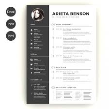 Browse Creative Resume Templates Word Download Free Free Resume Best