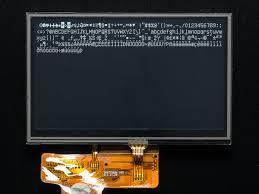 4 3 40 pin tft display 480x272 touchscreen id 1591 1591 3