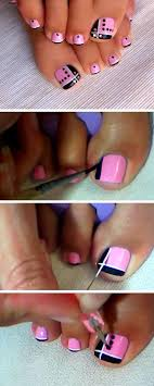 Cute Pedicure Designs 25 Best Ideas About Cute Pedicure Designs On Pinterest Pink