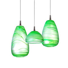 green pendant lighting. Modern Green Blown Glass Shade Pendant Lighting 11863