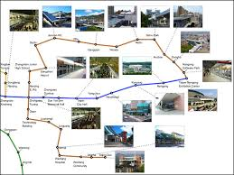 Examples Of Annotation Label Layouts In Taipei Mrt Maps A A
