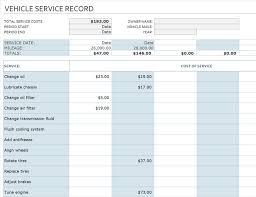vehicles maintenance records logs office com