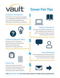 5 Tips To Ace A Career Fair Career Advice Vault Com