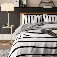 cotton reversible comforter set