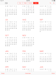 Calander Years Why Did Apple Add So Many Years In The Calendar App