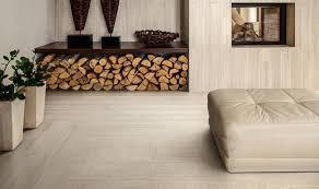 Living room flooring Modern Photo Features Lounge14 In Cosmopolitan Elle Decor How To Feature Porcelain Floor Tiles Marazzi