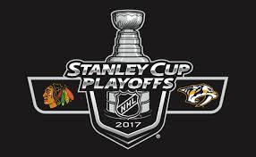 Image result for blackhawks vs predators game three logo