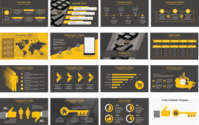 Ppt Style Design Powerpoint Template Or Presentation With Modern Look