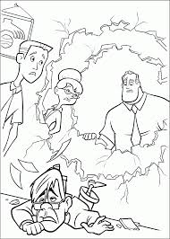 Incredible all make their way onto these printable coloring pages. The Incredibles Coloring Pages