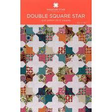 Double Square Star Pattern by MSQC - MSQC - MSQC — Missouri Star ... & Double Square Star Pattern by MSQC Adamdwight.com