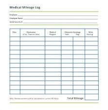 Mileage Tracker Company Car Log Vehicle Template Tracking Sheet