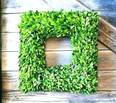 fake boxwood wreath artificial hobby lobby outdoor mini fak