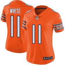 Womens Jersey Trey Orange Burton Authentic Bears Elite Jersey|Just Green Bay Packers