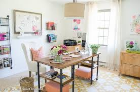 Office decorating ideas Inspiring Colorful Modern Farmhouse Office Decorating Ideas How To Create Modern Farmhouse Office Rustic Four Generations One Roof My Colorful Modern Farmhouse Office Decorating Ideas Four