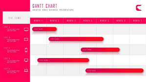 Powerpoint Create Slide Template How To Create Business Gantt Chart Project Timeline Plan In