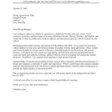 Art Teacher Cover Letter Art Teacher Cover Letter High School Teacher Cover Letters Sample 1