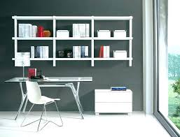 beautiful home office wall. Office Shelving Ideas Shelves For Beautiful Home Wall Large Size Of Mounted Bookcase I
