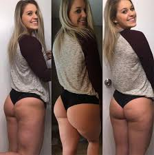 Average girls with nice asses