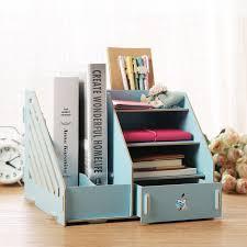 office desktop storage. Multifunctional Wooden Desktop Organizer With Drawer DIY Creative Office Desk Storage Rack Shelf Book Bookrack E