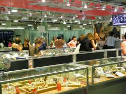 jewelry from throughout the world was on display at jck las vegas