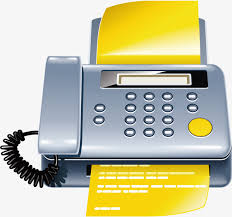 Fax Png Vector Material Fax Machine Print Telephone Png And