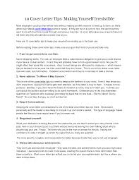 Tips On Creating A Cover Letter Shishita World Com