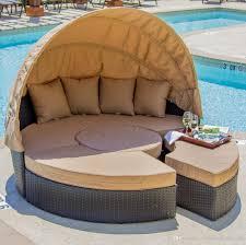 Round Outdoor Bed Online Cheap Outdoor Rattan Wicker Round Bedoutdoor Wicker Lying