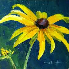 them black eyed susan because my name was susie and i had dark brown eyes it was quite some time later before i realized everyone called them that
