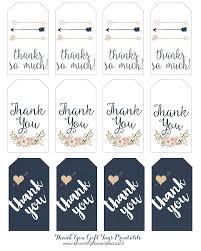 Free Printable Favor Tags Thank You Gift Tags Gift Tags Gift Tags Printable Thank