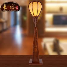 get quotations chang yu new solid wood carved living room floor lamp floor lamp retro chinese antique floor