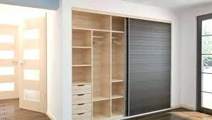 big wardrobe with sliding door