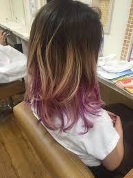 今年はこの濃い紫のブームの予感 グラデーションにメッシュで紫д