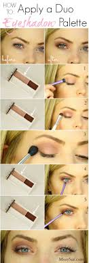 makeup tutorials for small eyes duo eyeshadow palette easy step by step guides on