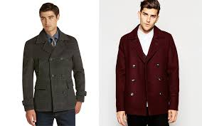 men s coats pea coat
