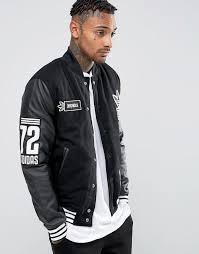 men s fashion jackets varsity jackets black varsity jackets adidas originals badge varsity jacket ay9148