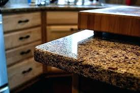 rounded edge laminate countertop radius edge plus 1 4 round granite edge chocolate truffle by 1 rounded edge laminate countertop