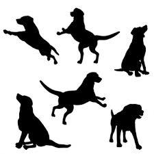 犬のシルエット に関するベクター画像写真素材psdファイル 無料