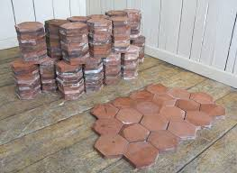 how to clean terracotta tiles reclaimed terracotta hexagon quarry floor tiles s to clean terracotta tiles cleaning lichen off terracotta roof tiles