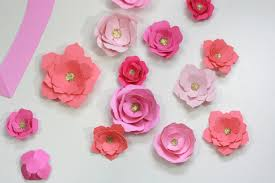 It is split into 7 different petal types. How To Make Paper Flowers With Your Cricut Everyday Jenny