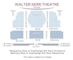 Cogent Walter Kerr Theatre Seating Walter Kerr Theatre