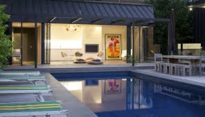 small pool house interior ideas. Modern South Yarra Pool House Design By Artillery Minimalist Interior Small Ideas G