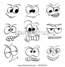 Funny Face Templates Pin By Hüsniye On Yüz şekilleri Cizgi Cartoon Faces Funny