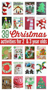 Christmas Crafts For 1 Year Olds  Christmas Craft With My 4 Year 3 Year Old Christmas Crafts