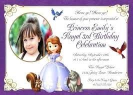 1st Birthday Party Invitation Template Personalized The First Birthday Party Invitations Princess