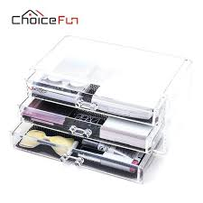 plastic makeup organizer choice fun make up storage box acrylic makeup organizer 3 drawers plastic cosmetic plastic makeup organizer