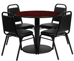 btod 36 round top dining height breakroom table w chairs