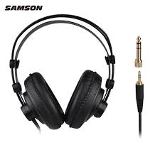 Open Design Headphones Us 26 85 20 Off Samson Sr850 Professional Studio Reference Headphones Dynamic Headset Semi Open Design For Recording Monitoring Music In Electric