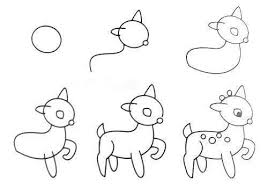 cute easy animal drawings step by step. Brilliant Easy VIEW IN GALLERY HowtoDrawEasyAnimalFiguresinSimple On Cute Easy Animal Drawings Step By