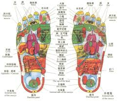Thai Foot Reflexology Chart A Pretty Good And Accurate Reflexology Chart Use A Small