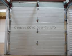 8x7 garage doorAmerican Style 8x7 Garage Doors Pu Foam Insulated Square Style